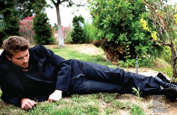 Garett Hedlung poses for DA MAN