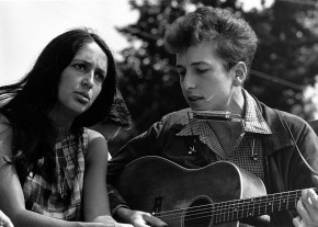 Joan_Baez and Bob_Dylan 1963 - courtesy of US Government