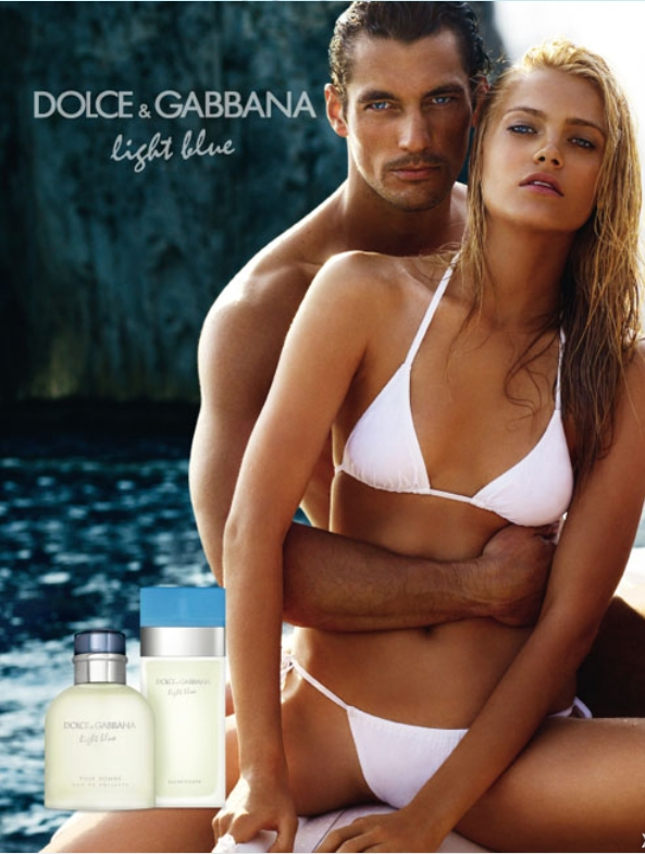 Were The Talented Twosome Mixing It Up In This Classy Sensual Video Below To Promote Dolce Gabbanas Light Blue Fragrance One For Men And One For