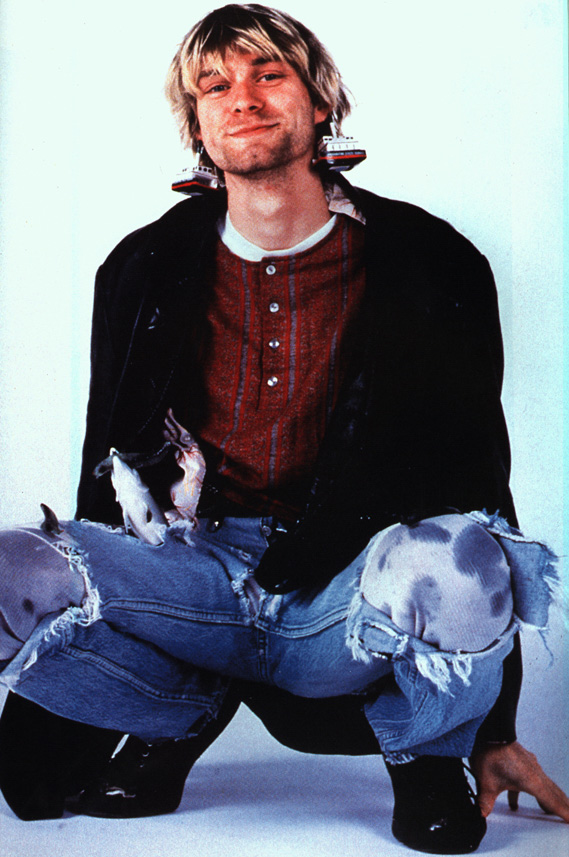Kurt Cobain The Ultimate Rebel Da Man Magazine