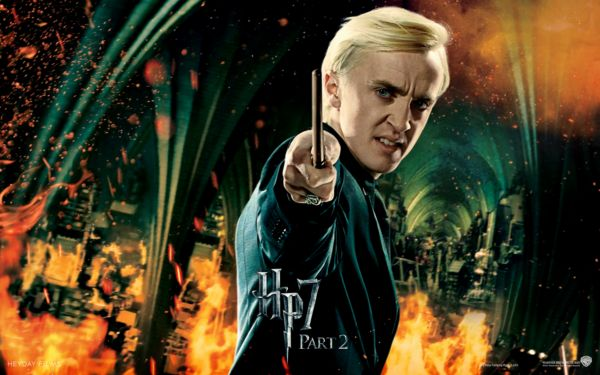 Harry Potter and the Deathly Hallows Part 2--Draco Malfoy - Tom Felton for DA MAN