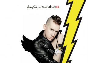 swatch x Jeremy Scott