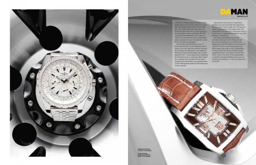 Точные копии breitling for bentley flying b