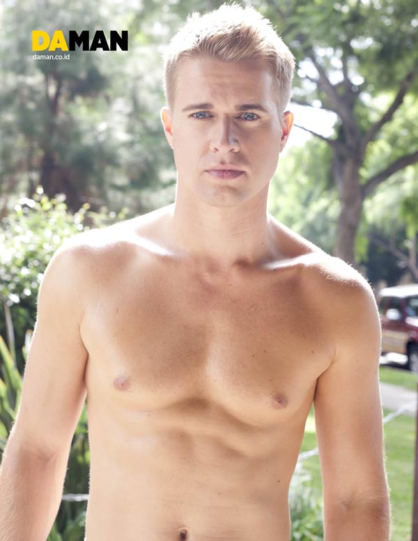 Randy-Wayne Young Hollywood by Yann Bean for DA MAN 2
