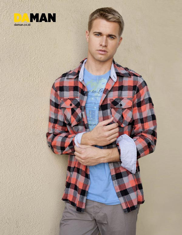 Randy-Wayne Young Hollywood by Yann Bean for DA MAN 3