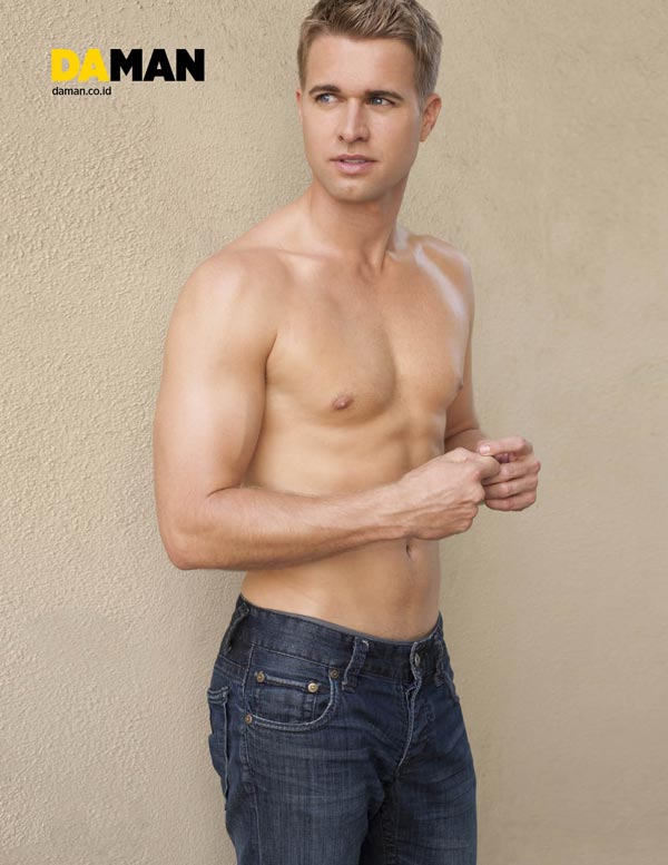 Randy-Wayne Young Hollywood by Yann Bean for DA MAN 4