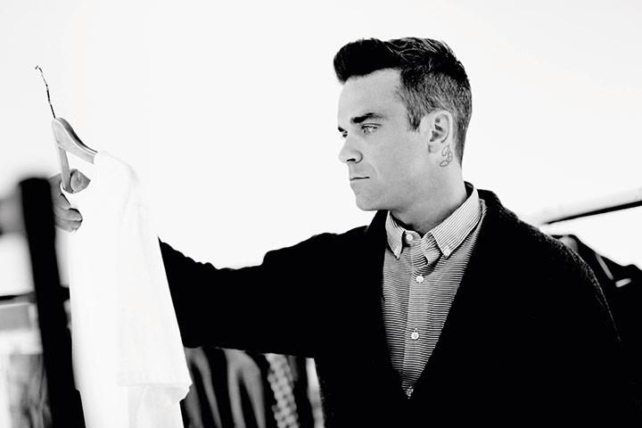 Robbie-Williams for Farrell fashion brand for DA MAN 2
