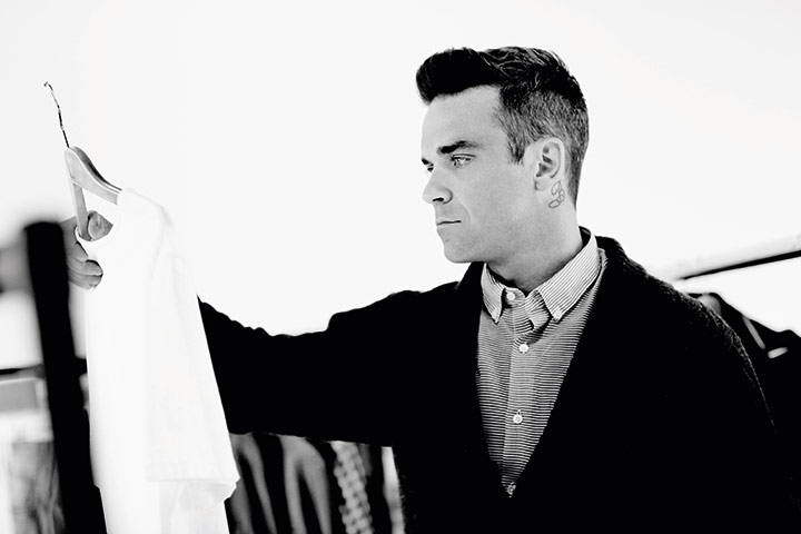 Robbie-Williams for Farrell fashion brand for DA MAN 2