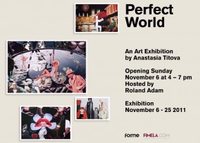 perfect world art exhibition by anastasia titova