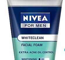 DA MAN Grooming Nivea for men whitening-acne-foam