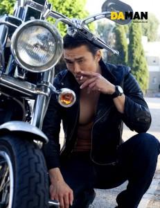 Karl Yune of Real Steel-for-DA MAN by Yann Bean 2