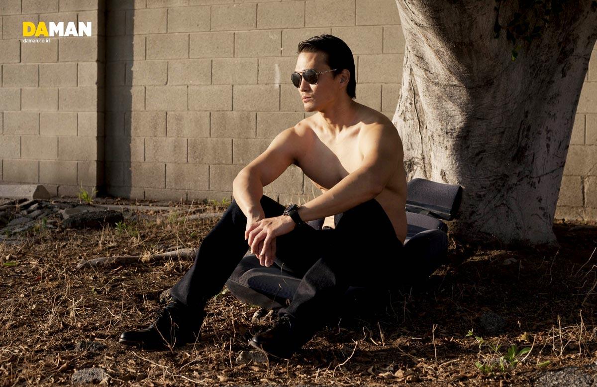Karl Yune of Real Steel-for-DA MAN by Yann Bean 3