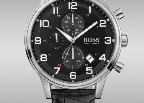 boss men black watch