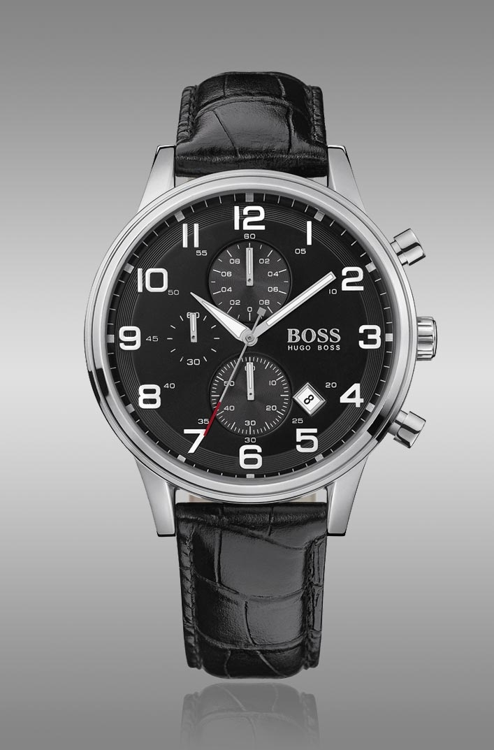 "hugo boss watch fashion inspired horology da man magazine mimicking the ""luxury voyage"" feel of the latest hugo boss black men s apparel lines the distinctively"