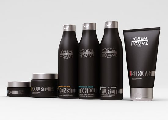 L'Oréal Professionel Homme Shampoo And Hair Wax