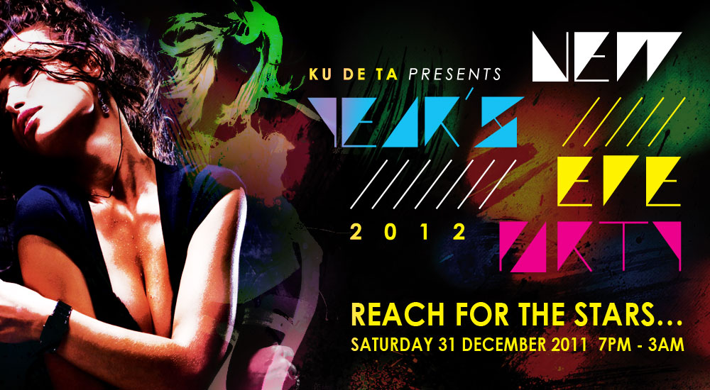 Ku DE Ta Bali New Year's Eve party on DA MAN