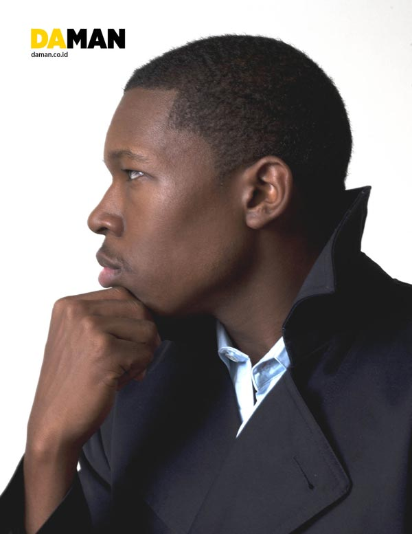 Denzel Whitaker DA MAN fashion exclusive, men's fashion, celebrity hollyood