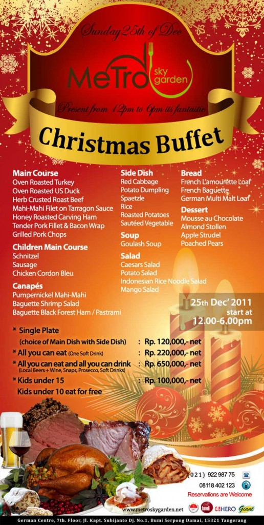 Da Man S List Of Christmas 2011 Events And Parties Update