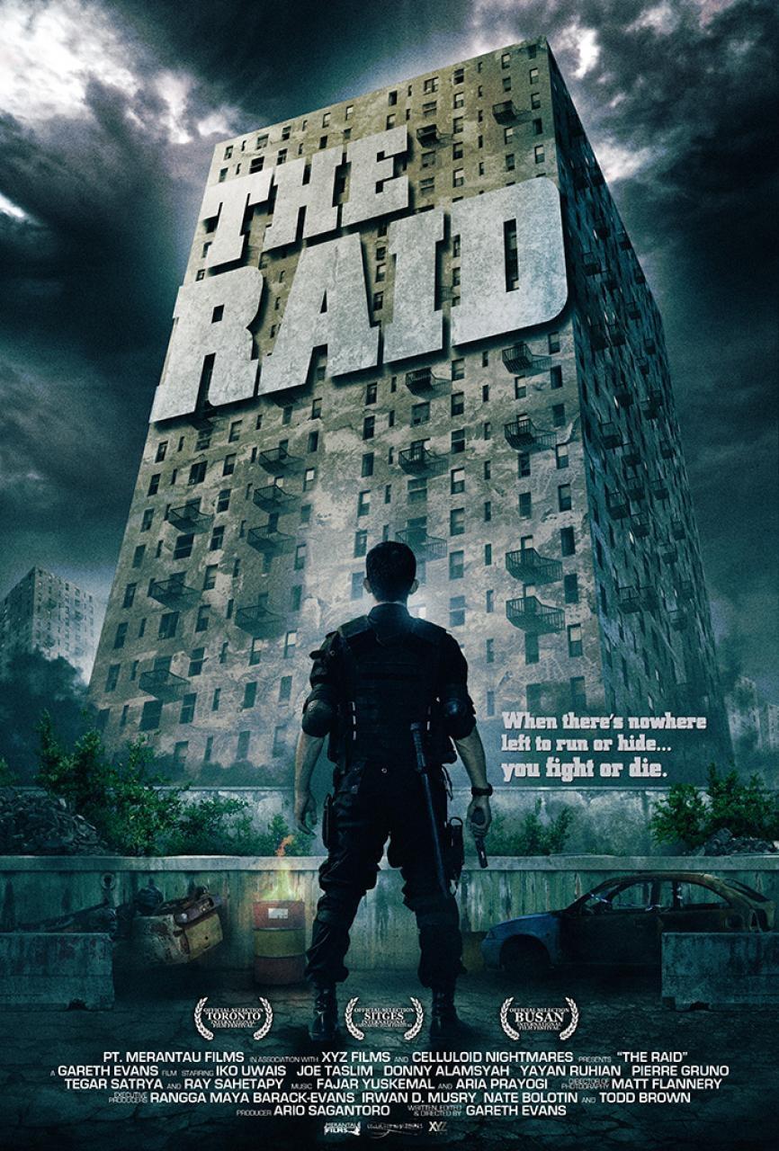 DA MAN The_Raid_(Gareth_Evans and Joe Taslim)_poster