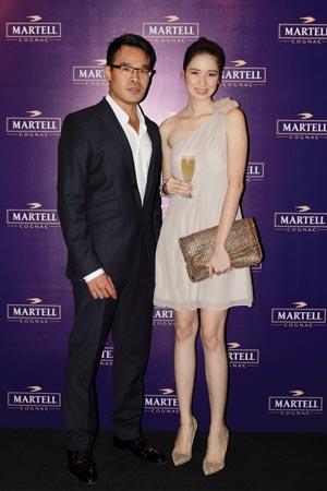 Martell-Cohiba Launching with DA MAN as media Partner -Leo-Sandjaja_Laura-Basuki