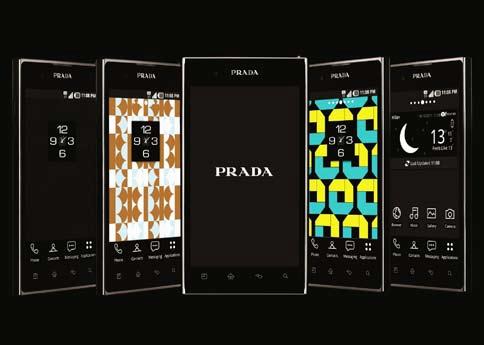 prada - LG smartphone DA MAN