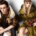 Burberry ss12-Ad-Campaign-Eddie-Redmayne-Cara-Delevingne for DA MAN -2
