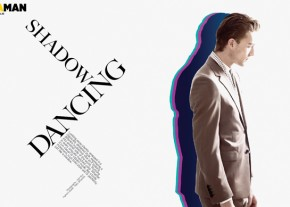 DAMAN Fashion Spread: Shadow Dancing