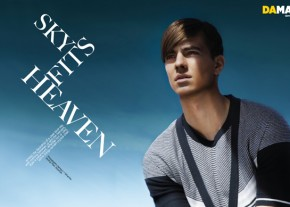 DAMAN Fashion Spread: Sky Fits Heaven