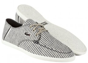lacoste breton stripes footwear