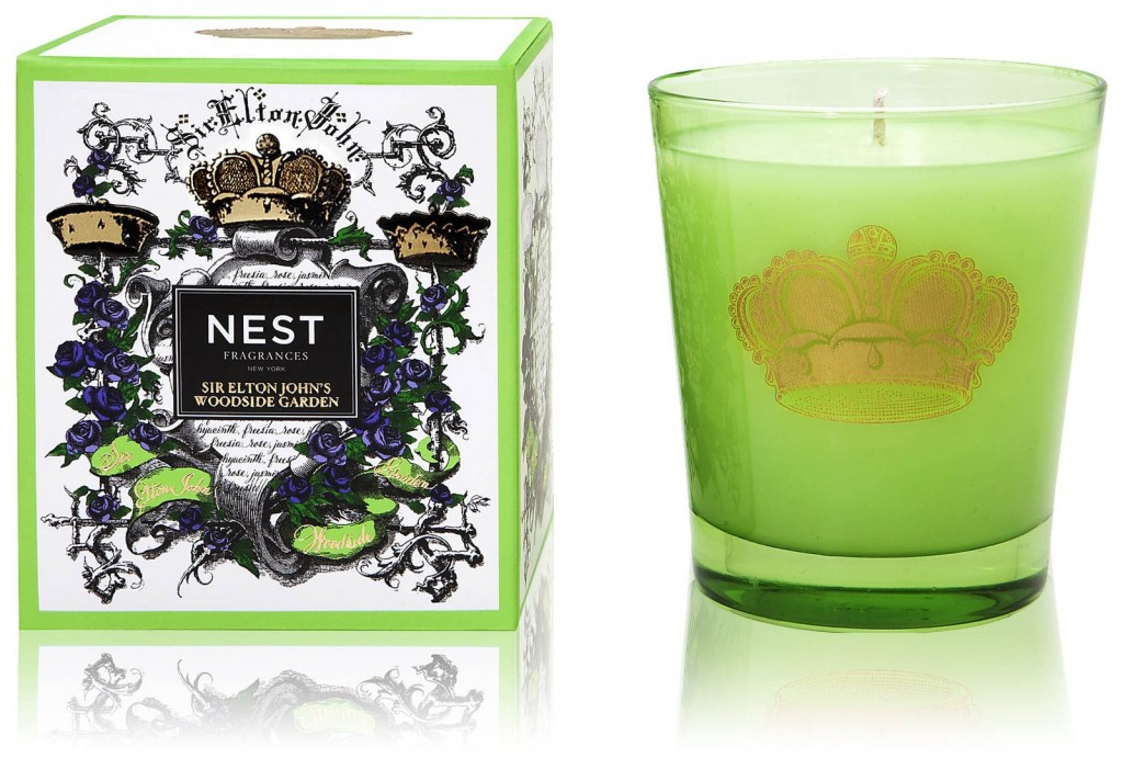 Nest fragrances elton john woodside garden candle da for Nest candles where to buy