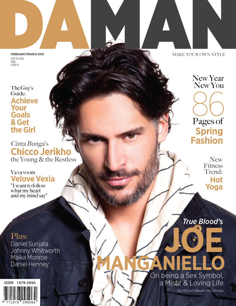 Cover DA MAN Feb/Mar 2012