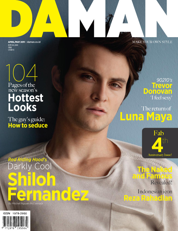 Cover DA MAN Apr/May 2011