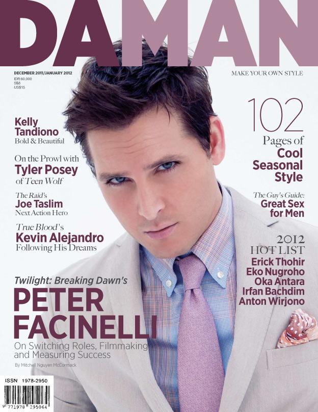 Cover DA MAN Dec 2011/Jan 2012