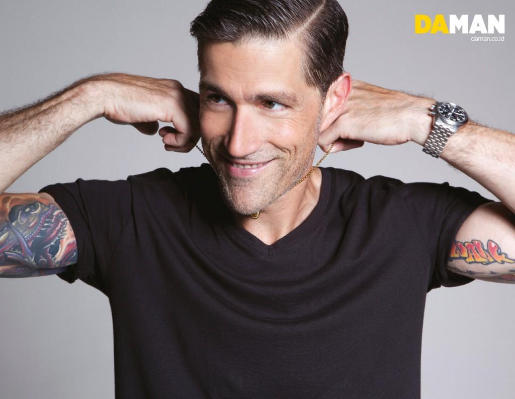 Exclusive Fashion Feature: Matthew Fox   DA MAN Magazine