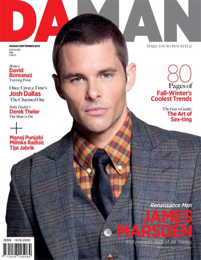 Cover DA MAN Aug/Sept 2012