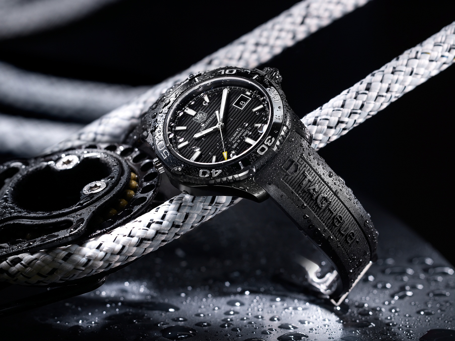 Watch Review  The new Aquaracer 500 M Ceramic from TAG Heuer  0398451361