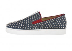 Christian-Louboutin-ROLLER-BOAT-raw-denim-navy-silver