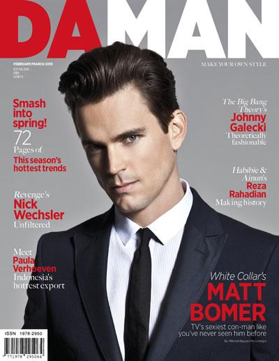 Cover DA MAN Feb/Mar 2013