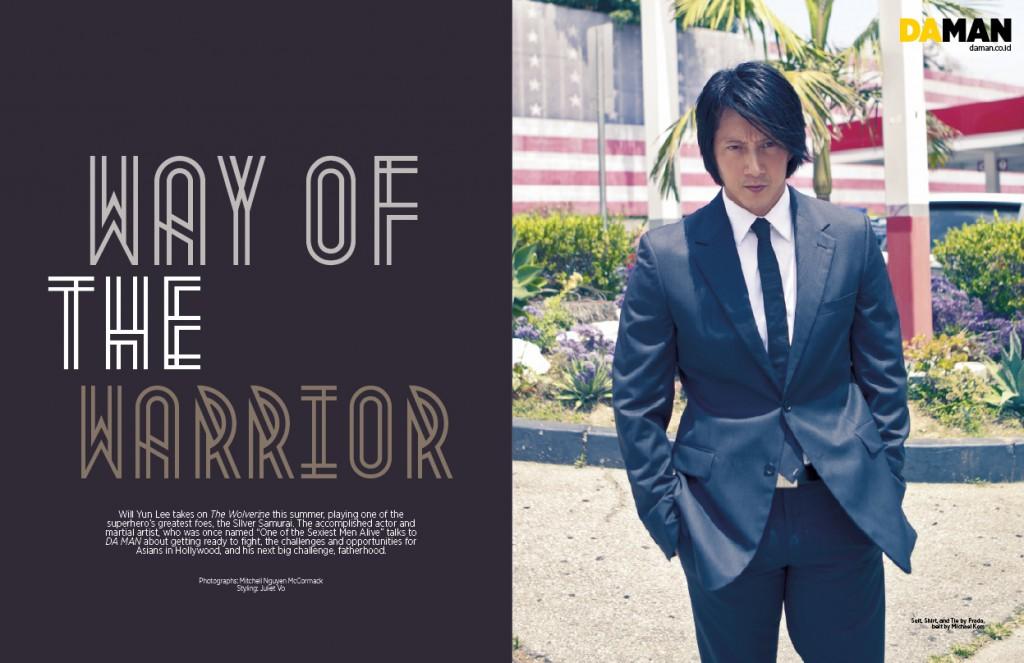 Exclusive Feature: Will Yun Lee | DA MAN Magazine