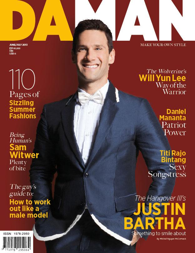 Cover DA MAN June/July 2013