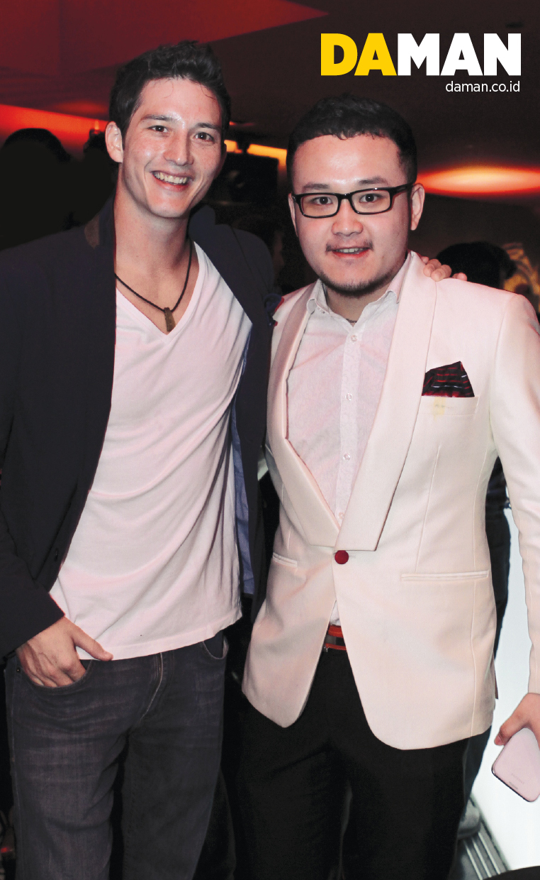 Mike Lewis and Samuel Wongso