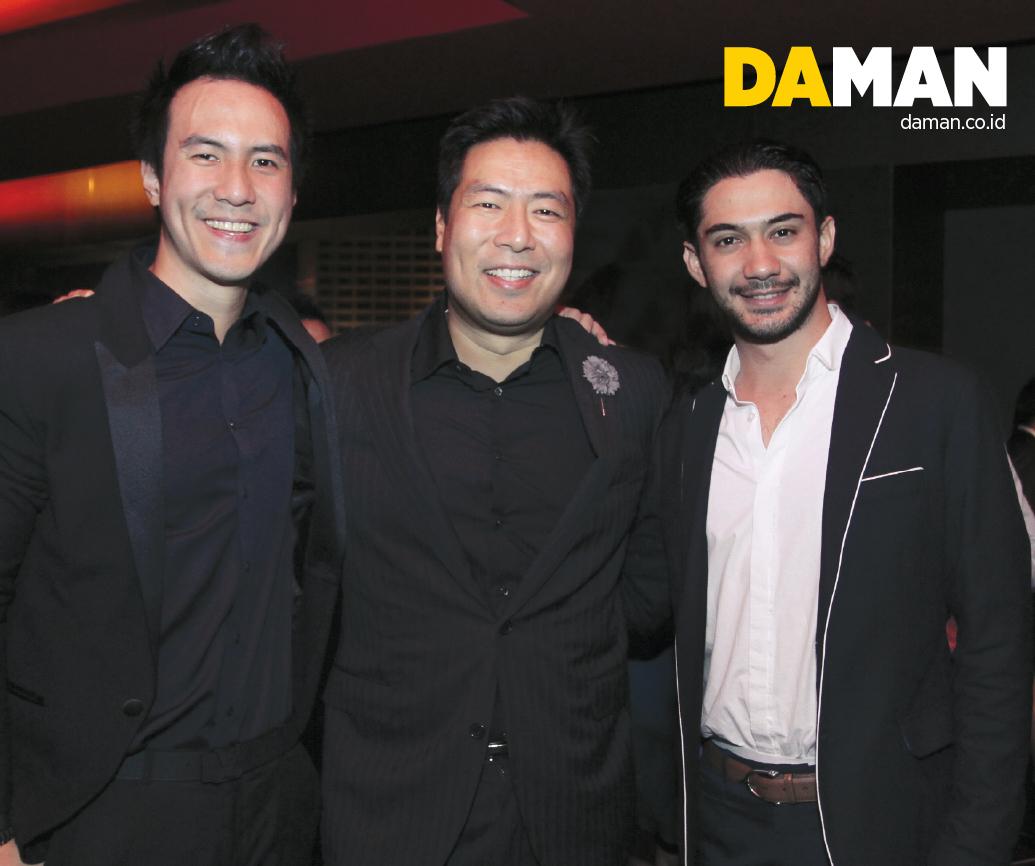 Daniel Mananta, Ronald Liem and Reza Rahardian