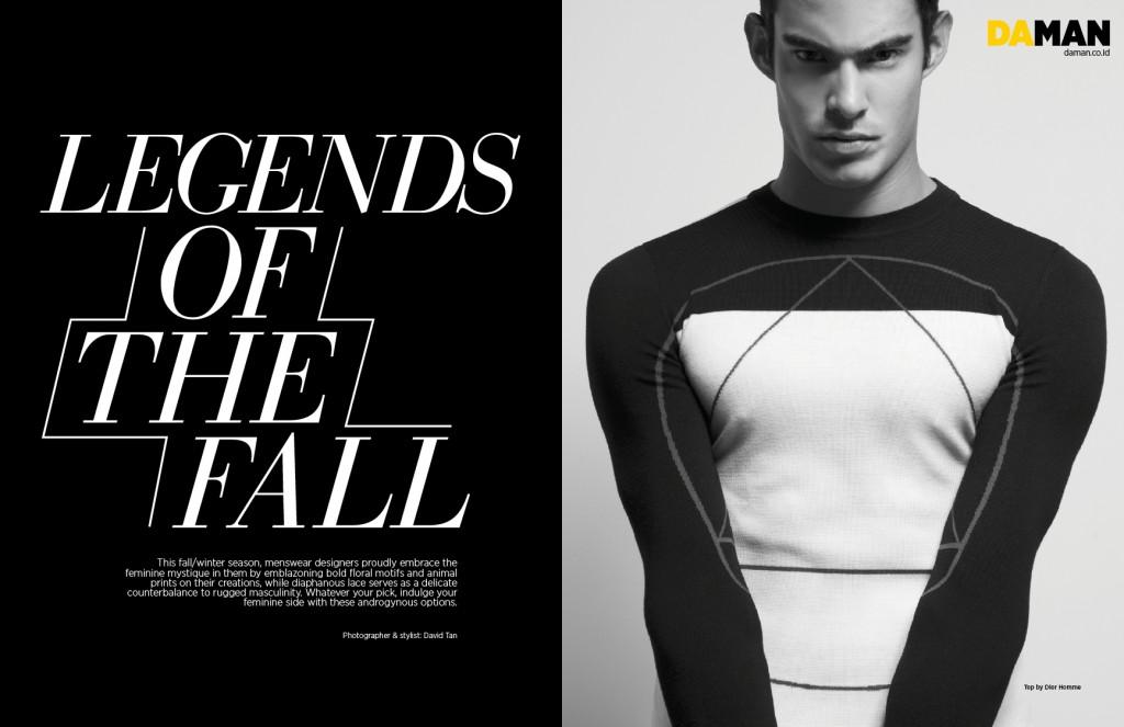 Fashion Spread Androgynous Fall Winter Picks Da Man