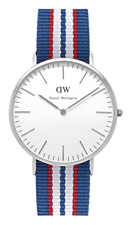 daniel wellington watch silver