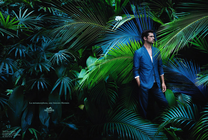 news herm232s springsummer campaign featuring sean opry