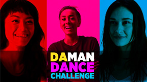 DA MAN Challenge: Dance with Kelly, Kimmy, Simona