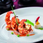 Charred King Prawn