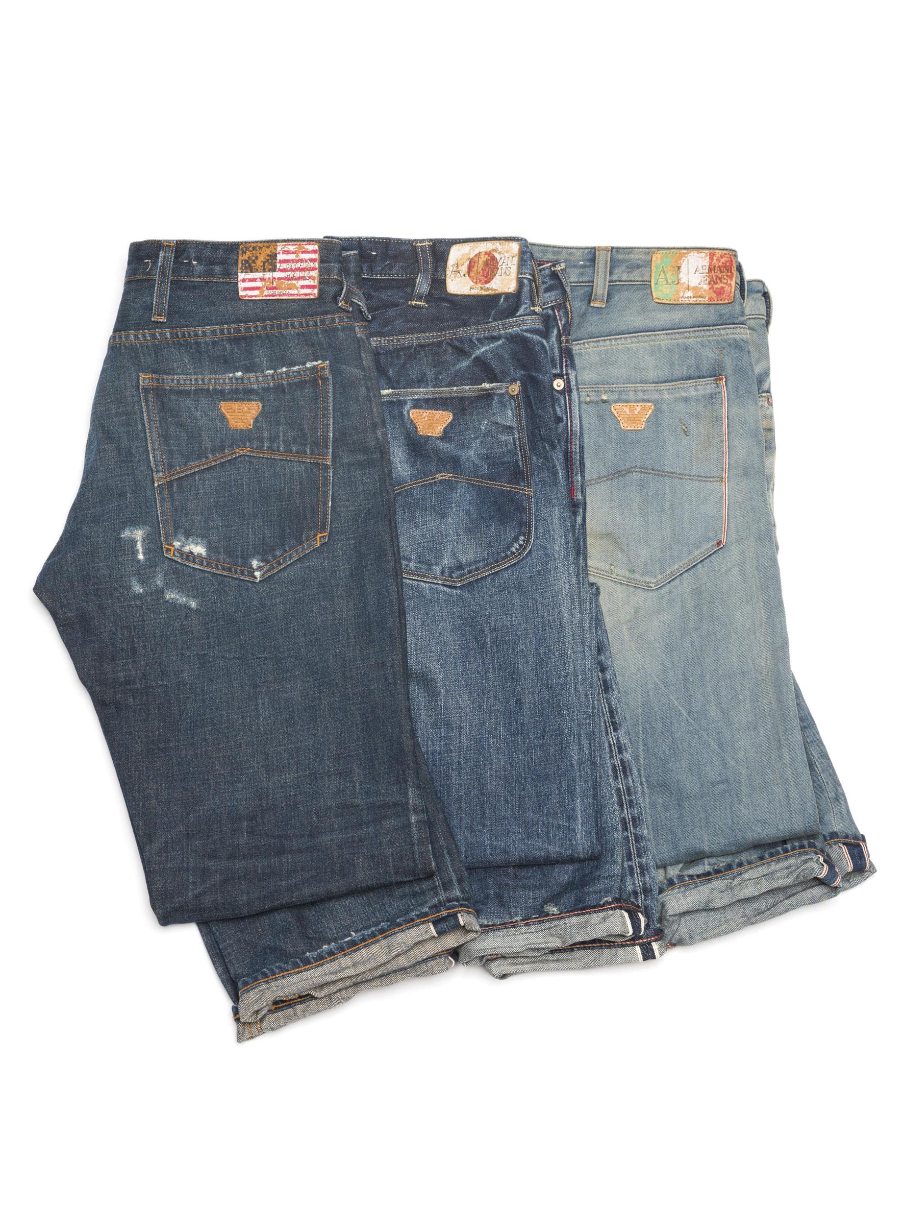 essentials armani jeans da man magazine. Black Bedroom Furniture Sets. Home Design Ideas