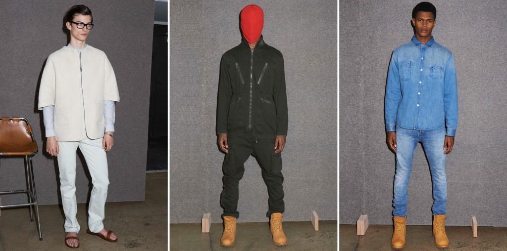 A.P.C x Kanye West Menswear