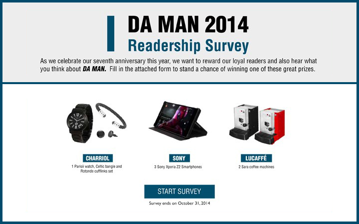 DAMAN 2014 Readership Survey